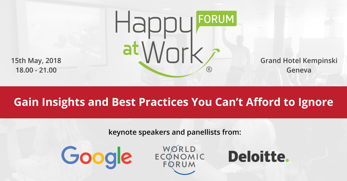 Happy at Work Forum