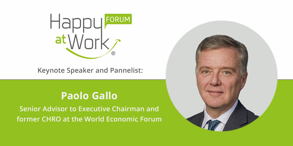 Paolo Gallo Happy at Work Forum
